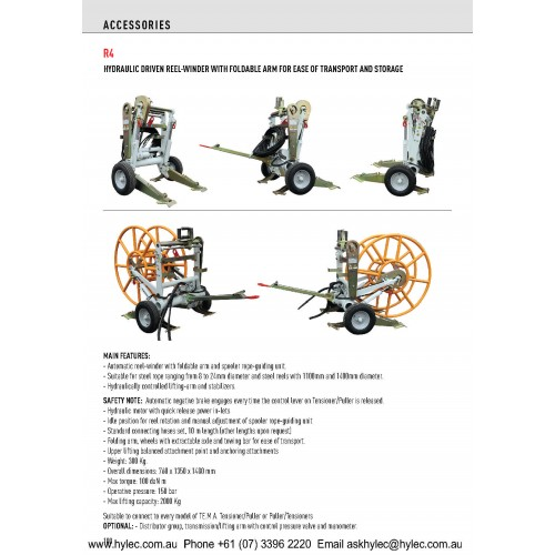 Hydraulic Reel Winder